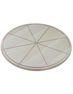 Podloga drvena za serviranje pice, 50 cm/8