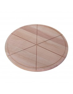 Podloga drvena za serviranje pice, 40 cm/6