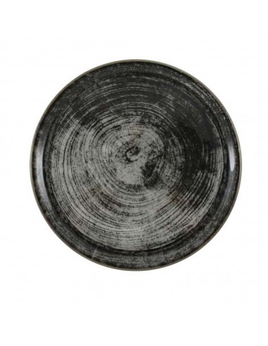 Tanjir za pizzu 33cm Black Round pakovanje 6 komada