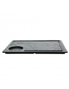Stek tanjir vulcania black 33cm x 24cm pakovanje 2 komada