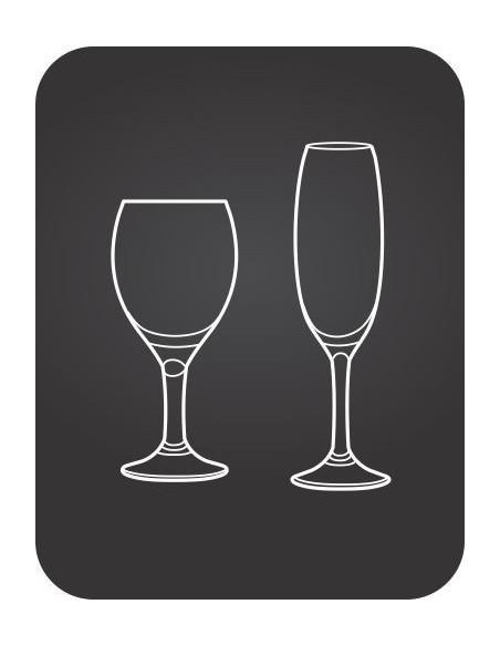 Čaše-staklo