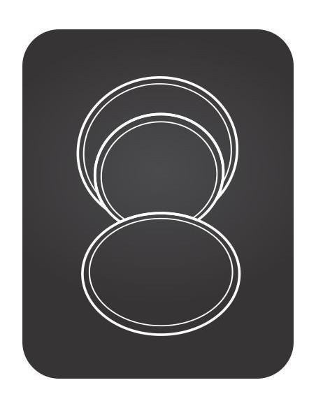 Saturnia Ischia Black Round